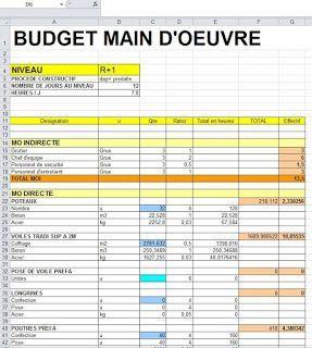 Métré complet pour bâtiment R+4 | Budget construction ...