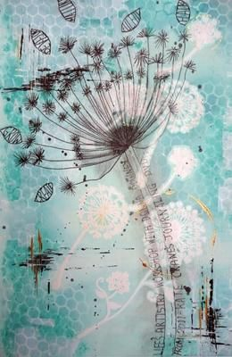 Cow Parsley - Day Seed Journals - Art Journaling into 2012 with Milliande