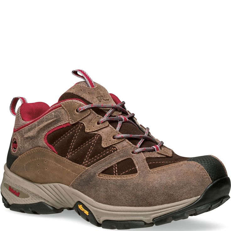 090666214 Timberland PRO Women's Willow Trail Safety Shoes - Brown