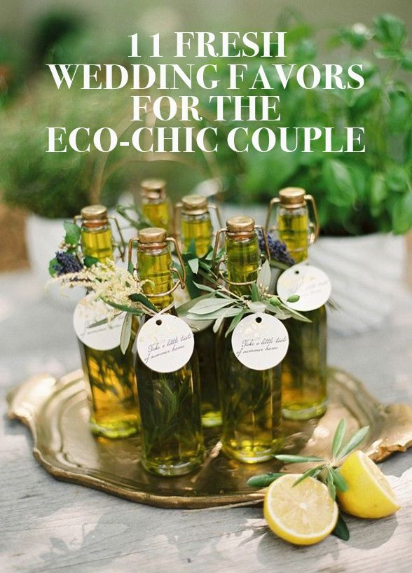 With the rise in popularity of all things environmentally friendly, why not extend the trend to your wedding favors? Check out these 11 wedding favors for the eco-chic couple: http://www.colincowieweddings.com/inspiration-and-details/11-fresh-wedding-favors-for-the-eco-chic-couple