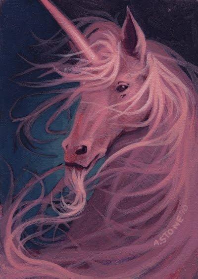 Pink Unicorn by Alex Stone