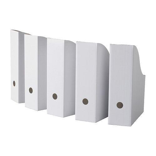 Muzebox :Versieren door de kinderen. 1,29 per 5 bij Ikea