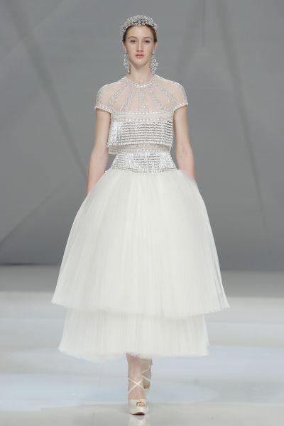 Vestidos de novia cortos 2017: ¡45 diseños encantadores! Image: 38