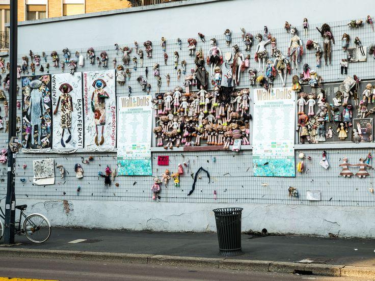 Kunst an einer Hauswand