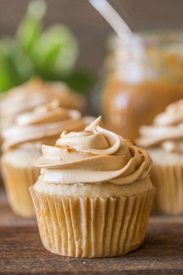 Apple Cupcakes With Dulce de Leche Buttercream FoodBlogs.com