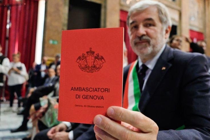 Bucci e gli Ambasciatori di Genova; e le Ambasciatrici? In cucina! -