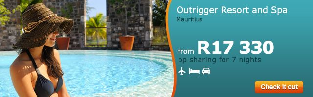 Need an island break? Check out GoTravel24's latest deal for Outrigger Resort and Spa in Mauritius --> http://holidays.gotravel24.com/ku/holidayoffer.jsp?Destination=OUTRIGGER_GT,RG,RB&utm_source=holidays&utm_medium=focus&utm_campaign=feb_outrigger