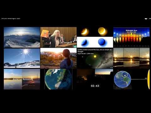 Exactly 12 Hours of Daylight 365 On The Equator of A Sphere Tilted at 23 Degrees is Impossible - YouTube