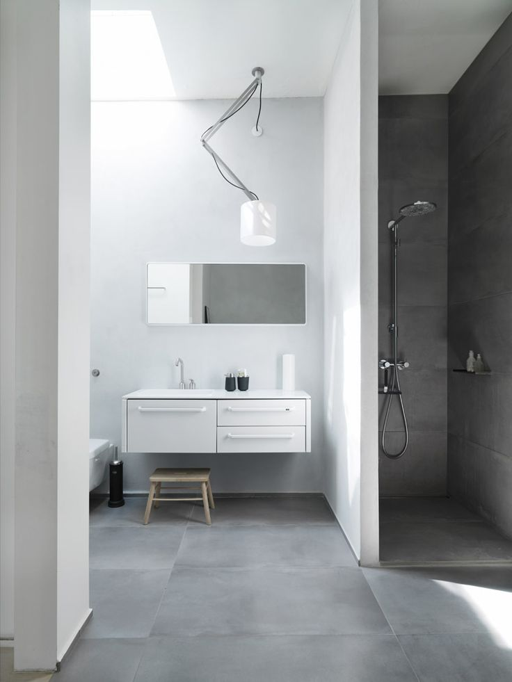 Vipp Bathroom Cabinetry | Copenhagen Apartment Morten Bo Jensen | © Anders Hviid Haglund | Est Magazine