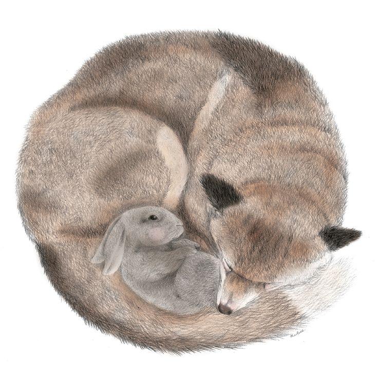 Snuggle Buddies Illustrated Card