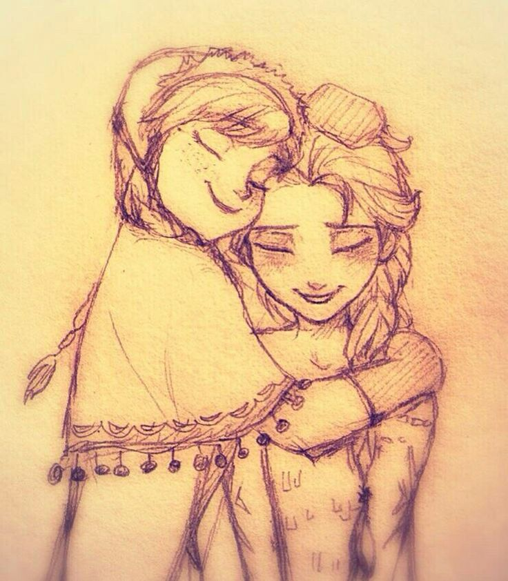 esa sketches frozen anna and sisters - photo #15