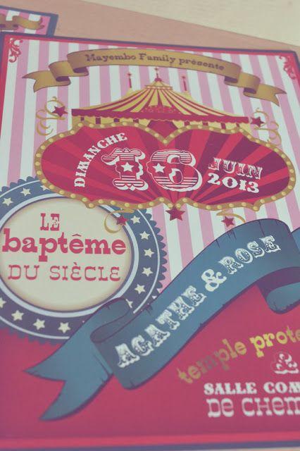 circus invitation, invitation cirque, anniversaire cirque, circus wedding, circus birthday, mariage thème cirque