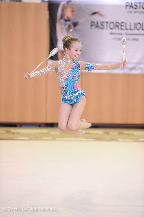 Соревнования Огни Москвы - Всероссийская Федерация Художественной Гимнастики