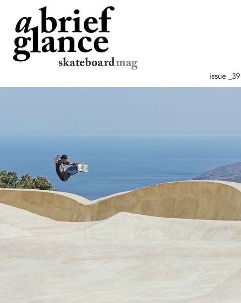 "vansskate: ""Congrats to Vans Europe's Sam Partaix on getting the lates cover of A Brief Glance with this scenic banger in Greece. Photo: @afterhours-dvl """