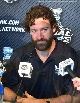 "LA Kings Justin Williams: ""Just Win"" and ""Puck Luck Is For Cop-Outs"""