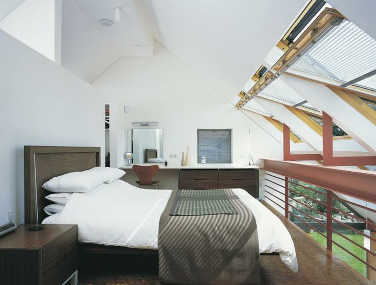 VELUX INTEGRA solar controlled roof windows - for the gadget lover. Or for those who simply want to enjoy their summer lie ins without getting up to open the window!