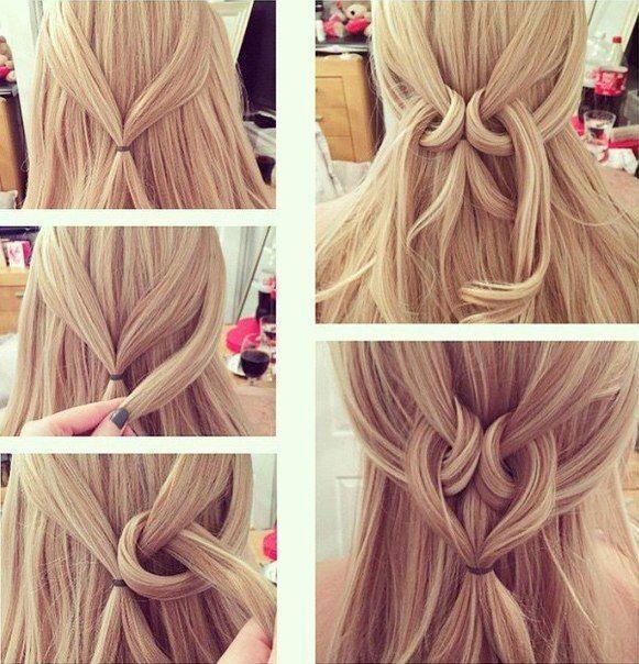 Amazing Heart Twist Hairstyle Tutorial ~ Entertainment News, Photos & Videos - Calgary, Edmonton, Toronto, Canada