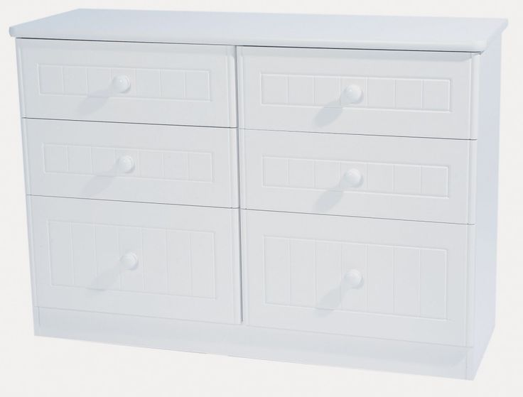 #Coniston 6 #Drawer Midi Chest (available in 2 colour finishes) £249.99