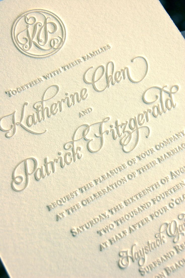 letterpress wedding invites london%0A Letterpress Wedding Invitations  please note this      listing is for a  deposit  for pricing