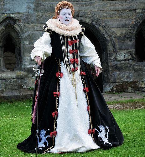 Queen Elizabeth I At Tutbury Castle Staffordshire England