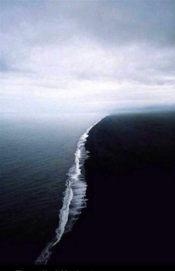 """""""The gulf of Alaska. Two oceans combine but do not mix"""""""