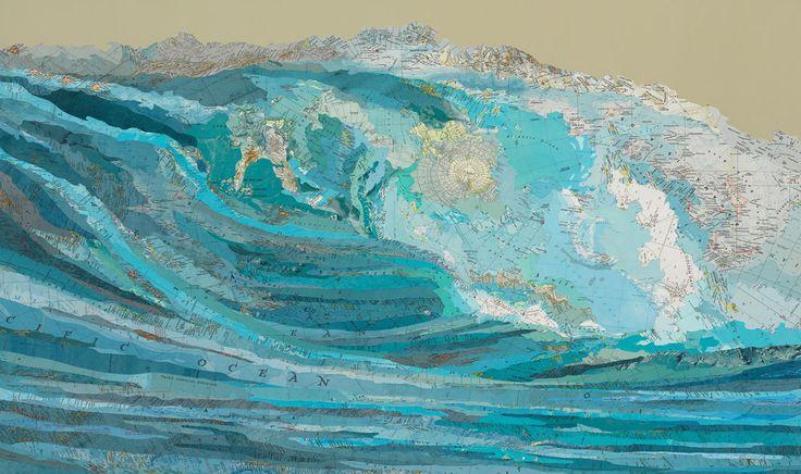 Kara's wave - Matthew Cusick - Bilder, Fotografie, Foto Kunst online bei LUMAS