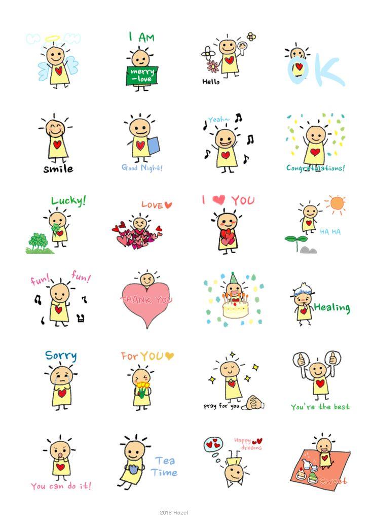 [iMessage] Animated Merrylove Character Design, Gift https://itunes.apple.com/us/app/merrylove-sticker-pack/id1156432127?mt=8