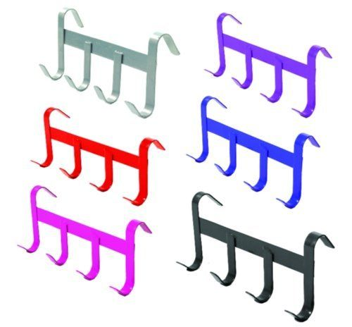 Handy Tack Hanger by Equiessentials. $8.10. Lightweight tack bar features 4 hooks and brilliant color finishes.