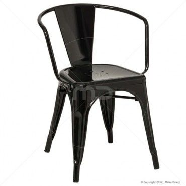 Vintage Metal Cafe Armchair   Black   Buy Replica Vintage Metal Cafe Chair    Vintage MetalBest 25  Metal cafe chairs ideas on Pinterest   Metal dining  . Metal Cafe Chairs Sale. Home Design Ideas