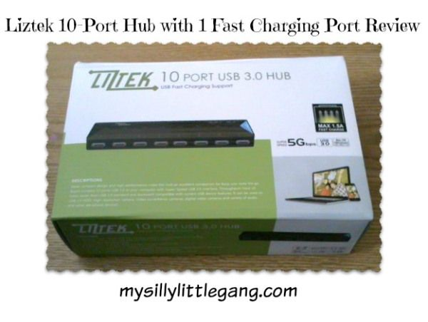 Liztek Port Hub Review - My Silly Little Gang #PortHubwith1FastChargingPort
