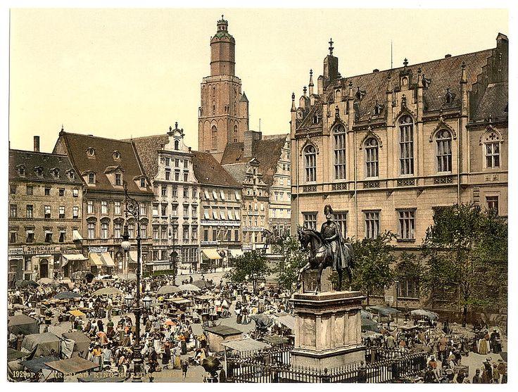 Германия в конце 19-го века / до Второй мировой войны (исторические фото) - SkyscraperCity- Бреслау