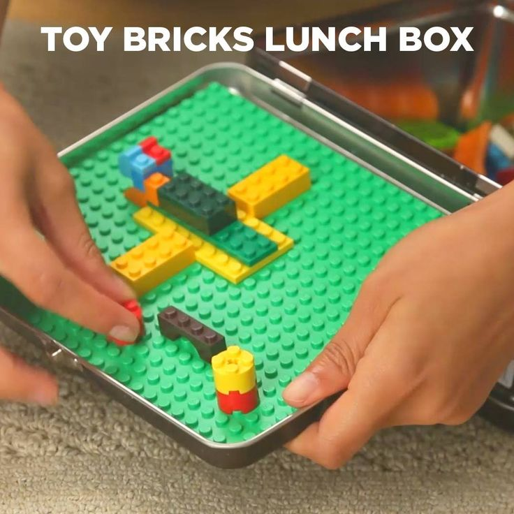 Toy Bricks Lunch Box