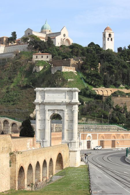 Ancona, Marche. Italy - Arco Traiano e Duomo  Photo by Celo Risi -