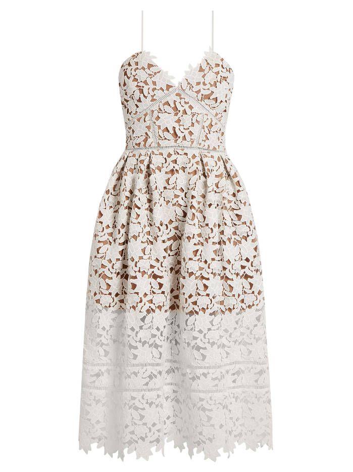 Robe de mariage civil Self Portrait - Mariage civil : 20 robes qui font leur petit effet  - Elle