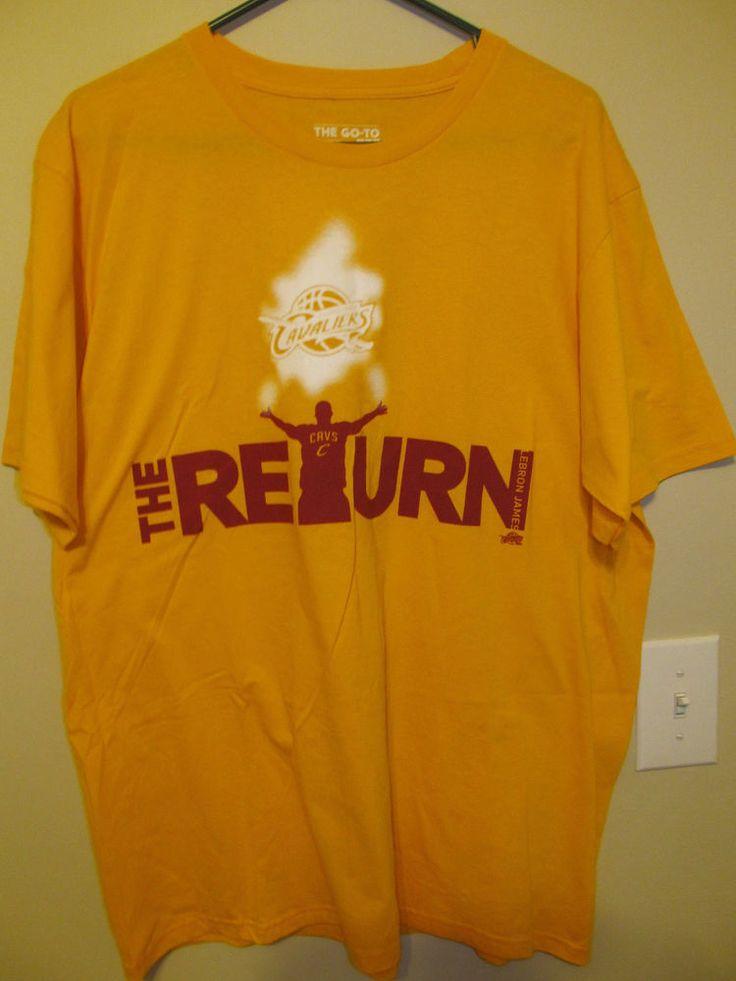 The RETURN Lebron James Cleveland Cavaliers shirt - Adidas Adult  X-large #adidas #ClevelandCavaliers