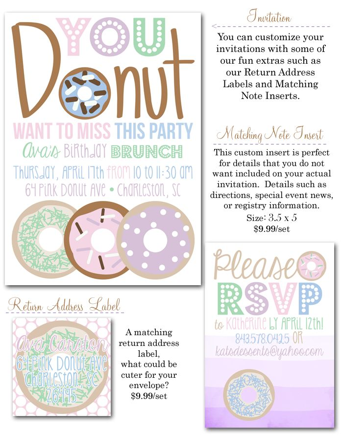 Best 10 party images on pinterest donut party pajama party and we offer affordable party decor invites save the dates and more stopboris Gallery