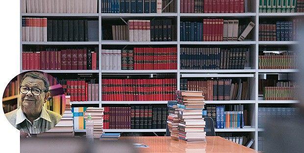 Como organizar uma (baita) biblioteca (Foto: Valor/Folhapress, divulgação) http://glo.bo/1p1xoWS