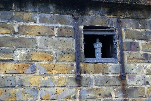 cmnt neighbour by Isaac Cordal, via Flickr http://restreet.altervista.org/gli-schiavi-del-cemento-di-isaac-crodal/