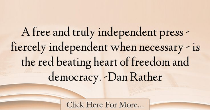 Dan Rather Quotes About Freedom - 24867 Read More http://www.trendquotes.com/dan-rather-quotes-about-freedom-24867/