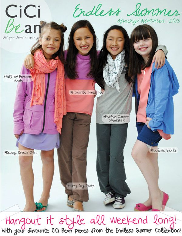 CiCi Bean Hangout It-Style! | CiCi Bean - clothing for tween girls. | www.letyourheartbeyourguide.blogspot.ca