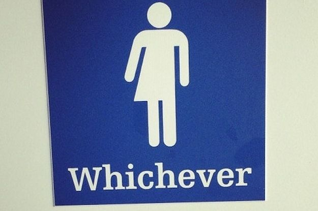 17 Of The Most Fabulous Gender Neutral Bathroom Signs - http://car-trucks-auto.advices4all.eu/17-of-the-most-fabulous-gender-neutral-bathroom-signs/
