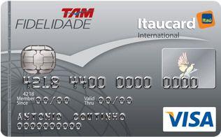 TAM   Fidelidade   Cartão de Crédito Visa   Itaucard 2.0
