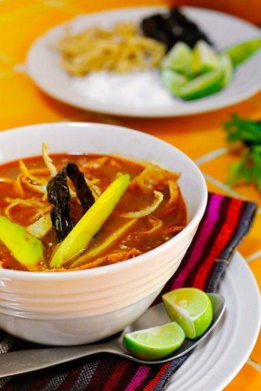 San Miguel de Allende, Mexico: Sopa de Tortilla or Tortilla Soup.: San Miguel, Miguel De, Chicken Soups, From Beyond, Mexicans Food, Tortillas Soups, Mexicans Recipe, Sopa De Tortillas, Flavored Dishes