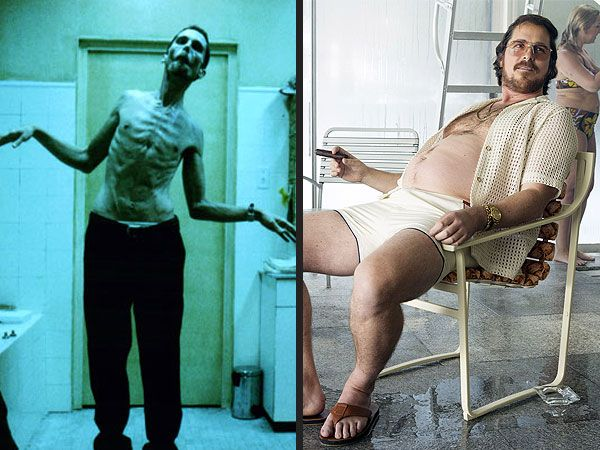 Bulky Batman to American Hustle Flab: A Timeline of Christian Bale's Body Transformations