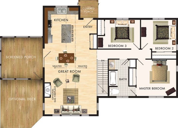 116 Best House Plans Images On Pinterest Tiny House Cabin House Blueprints And Architecture