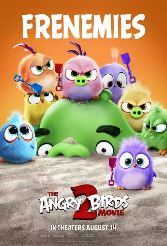 The Angry Birds 2 2019 Angry Birds Movie Angry Birds Movies