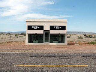 Tyler-The Boy Who's Always on the Move....: Cool Places in America~Prada Marfa