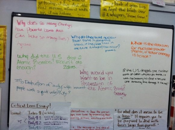 Socratic seminar tips and academic conversational prompts. Hooray for higher level thinking skills!