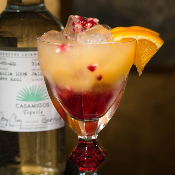 SUNRISE 1 1/2 Parts #Casamigos Blanco Tequila 3 Parts Fresh Orange ...
