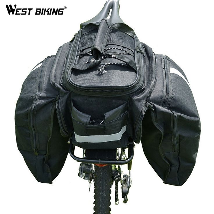 (57.20$)  Watch more here - http://aia5j.worlditems.win/all/product.php?id=32431084575 - WEST BIKING Bicycle Rear Rack+Bags+Raincover Hide Set Back Shelf Bike Road MTB 50Kg Load Cycling Carrier Bag